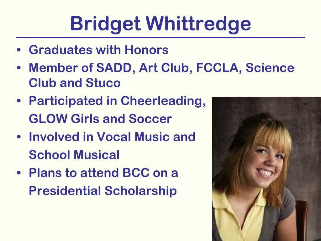 Bridget Whittredge