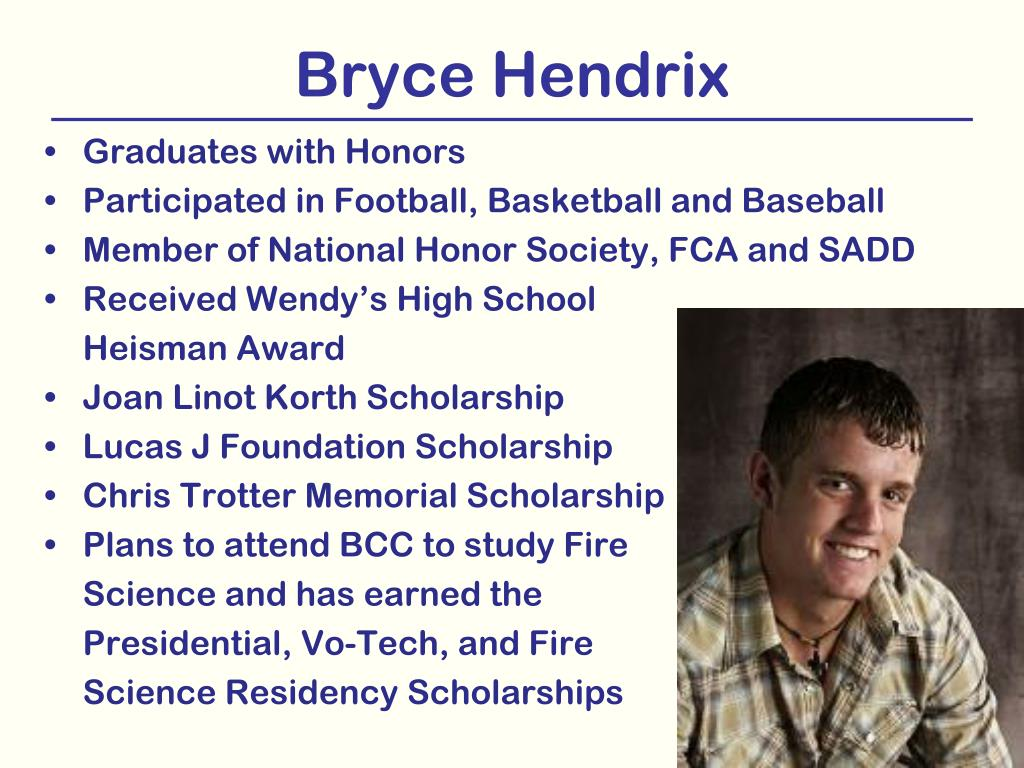 Bryce Hendrix