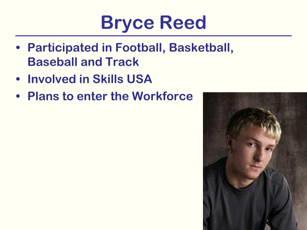 Bryce Reed