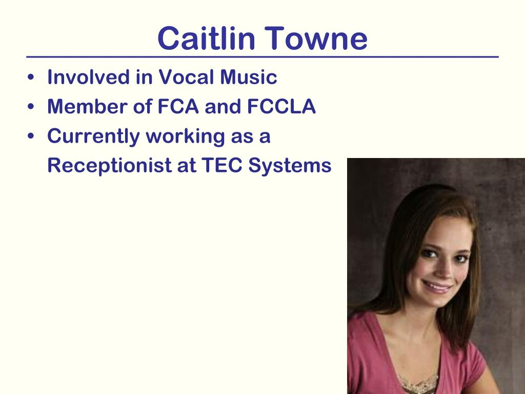 Caitlin Towne