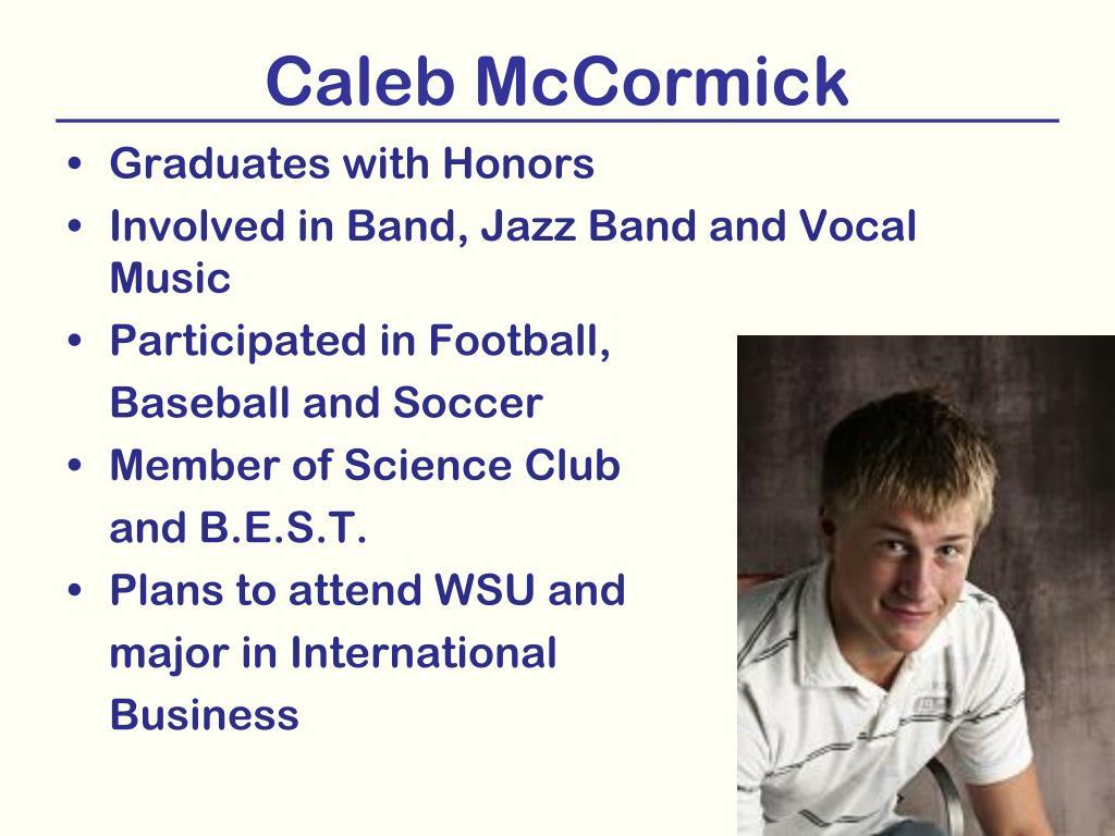 Caleb McCormick