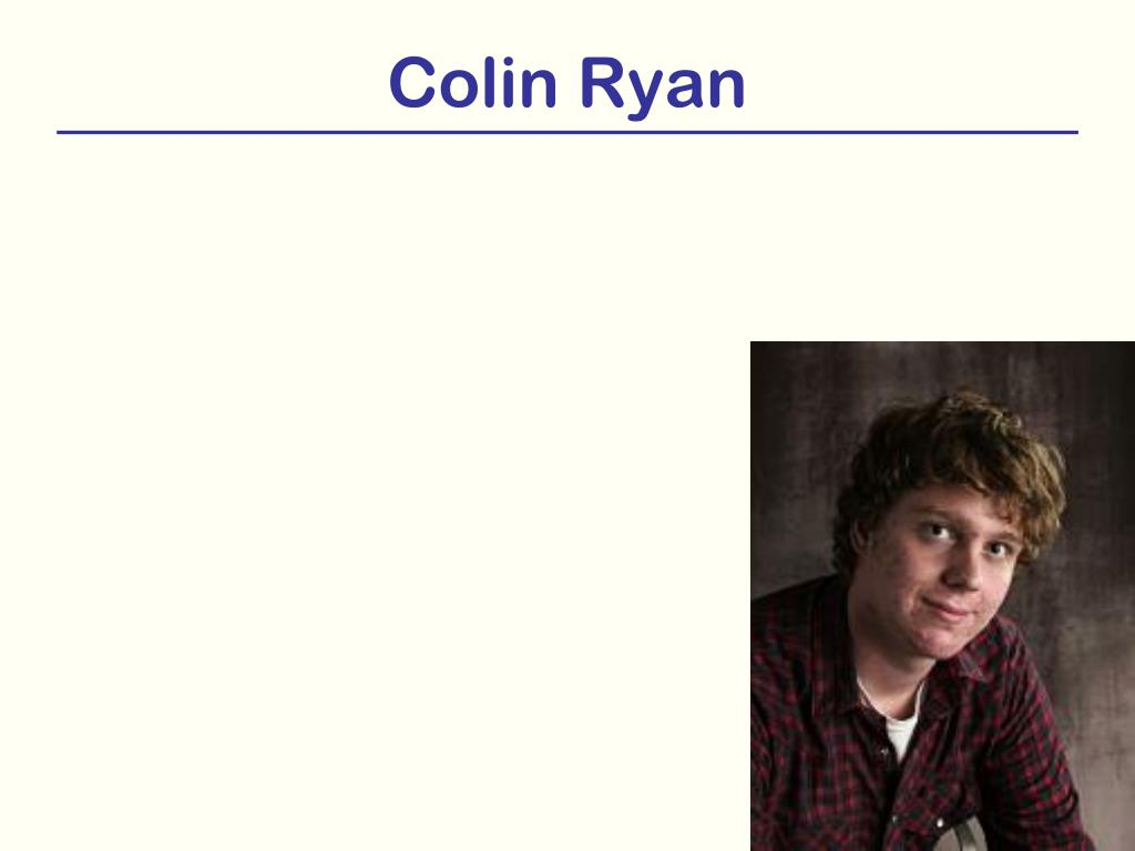 Colin Ryan
