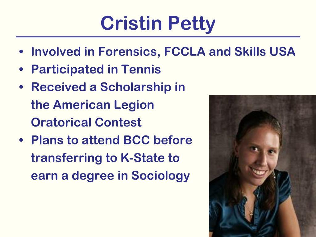 Cristin Petty