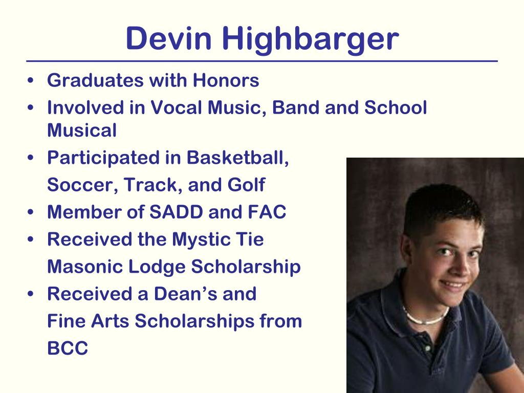 Devin Highbarger