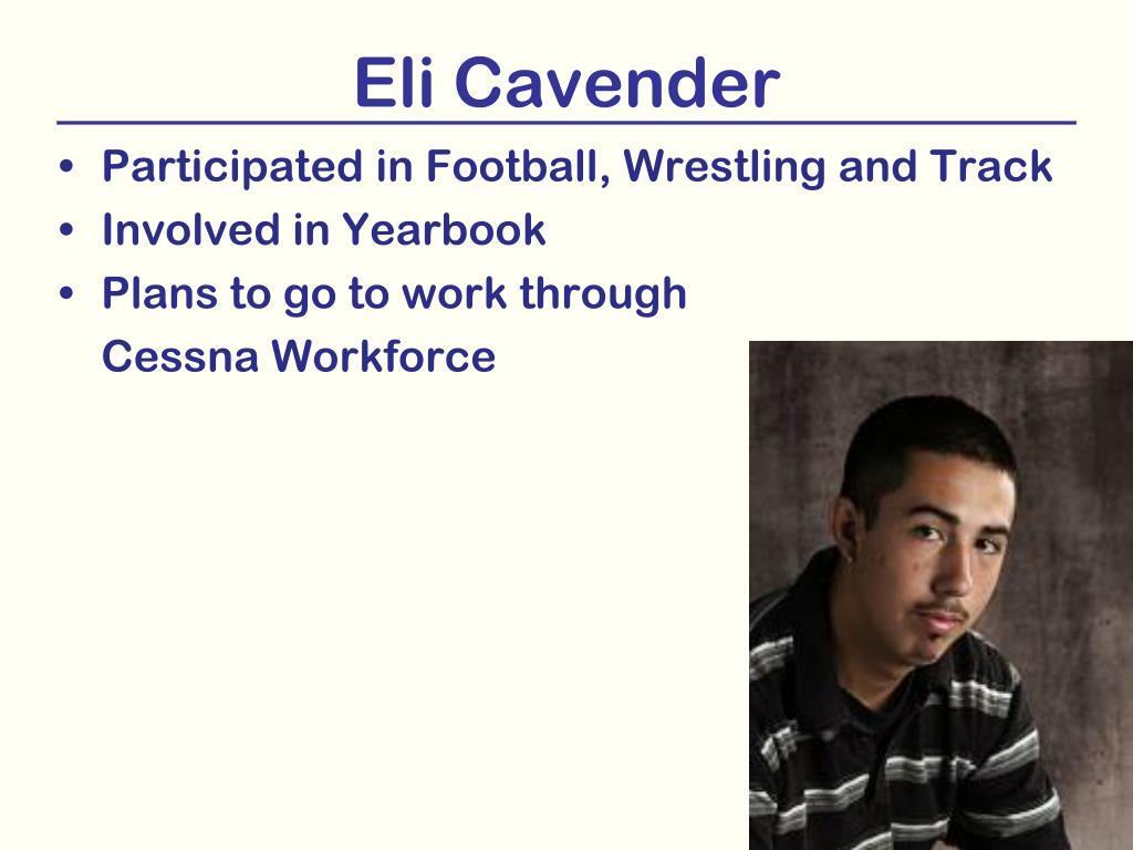 Eli Cavender