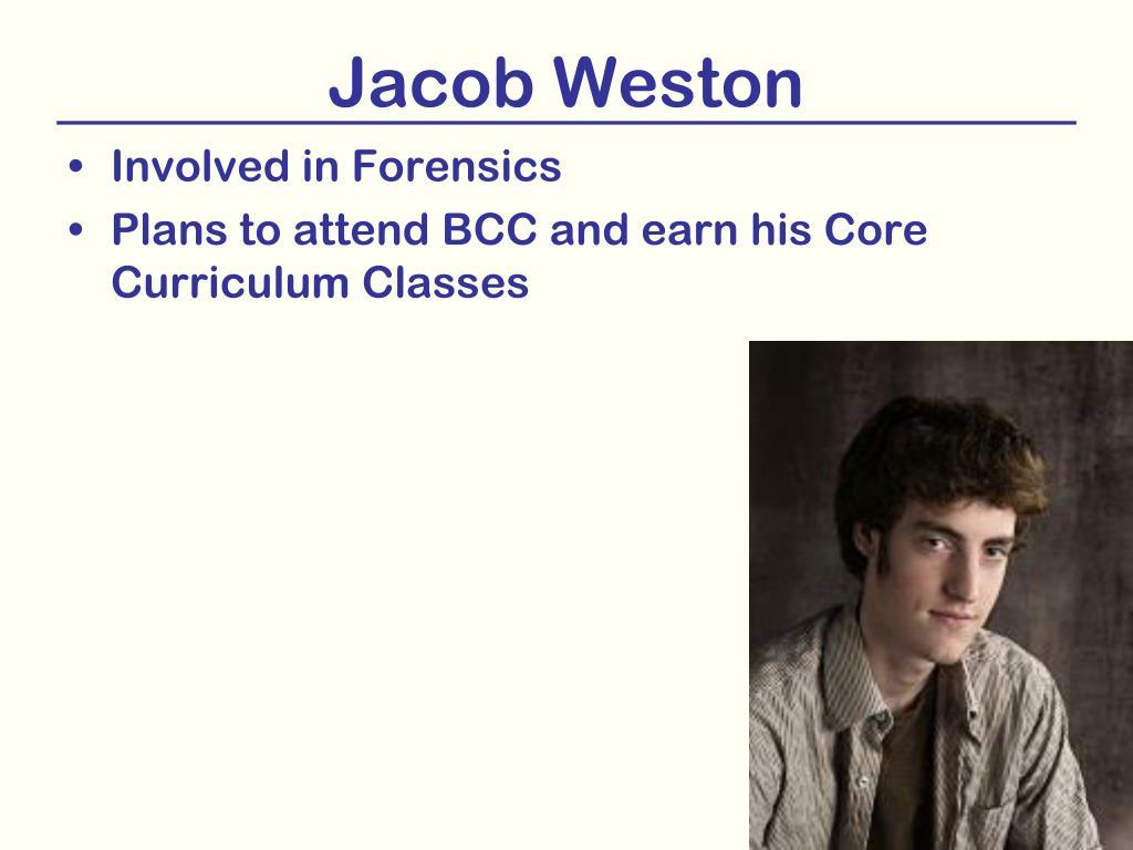 Jacob Weston