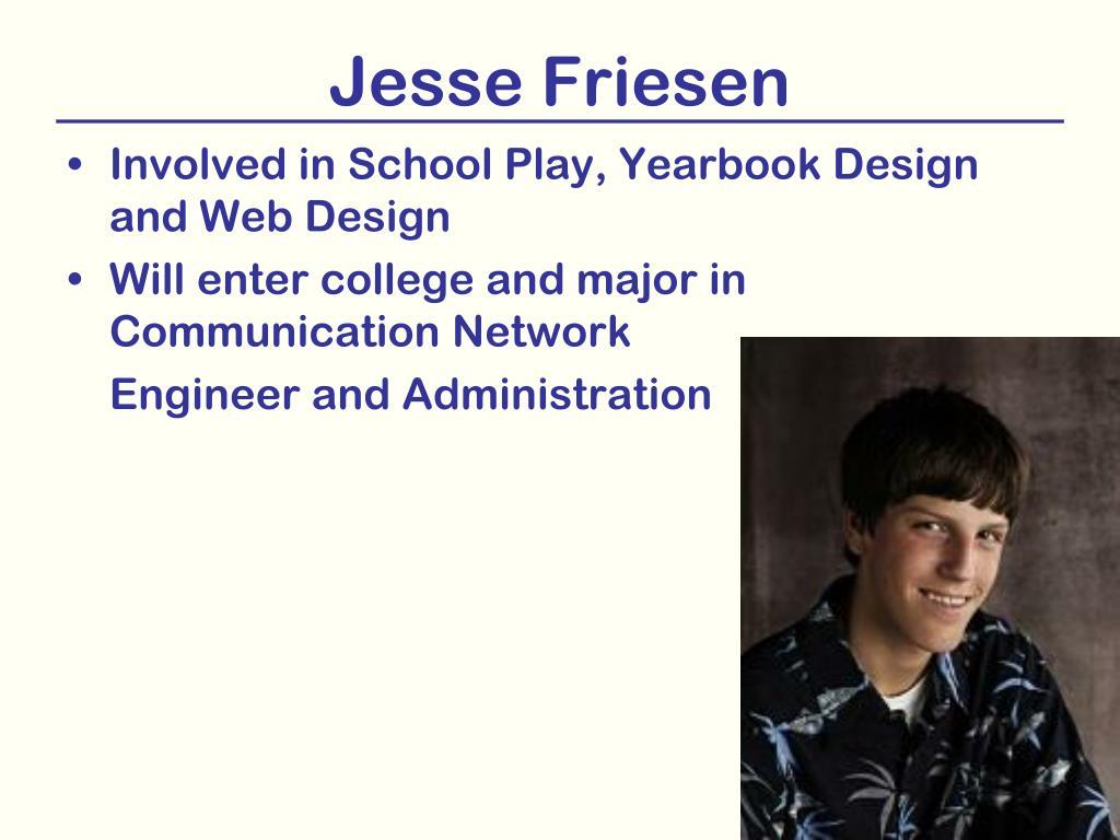 Jesse Friesen
