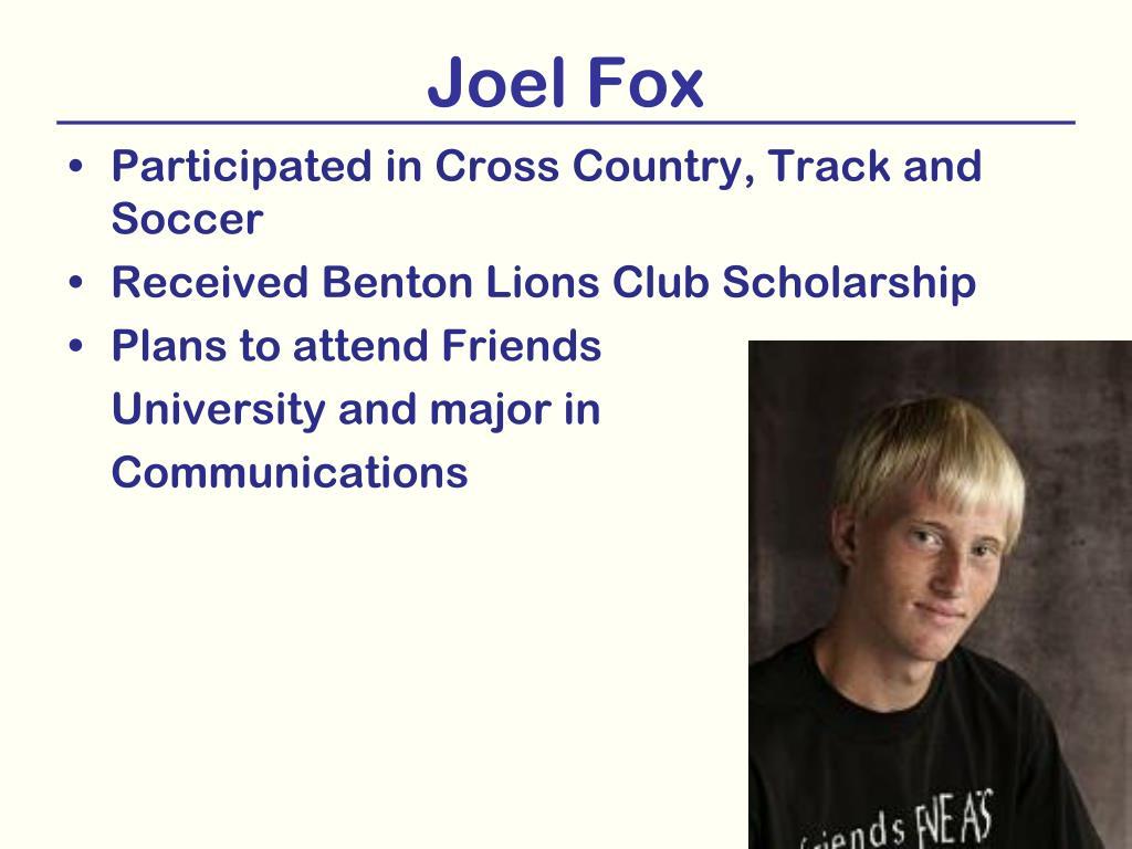 Joel Fox