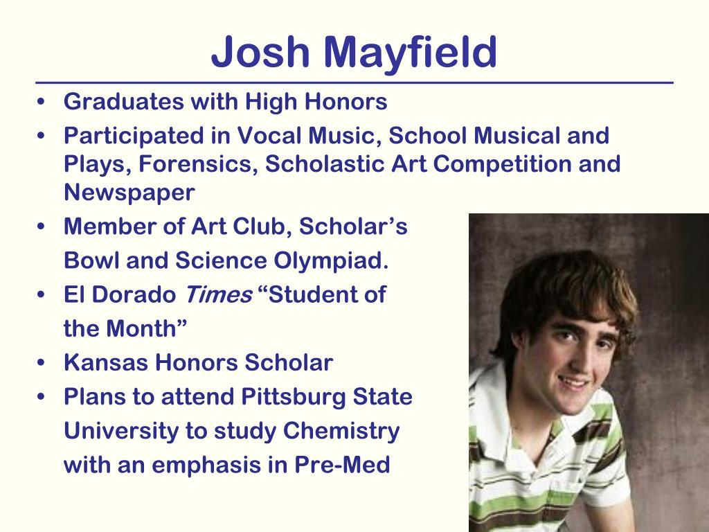 Josh Mayfield