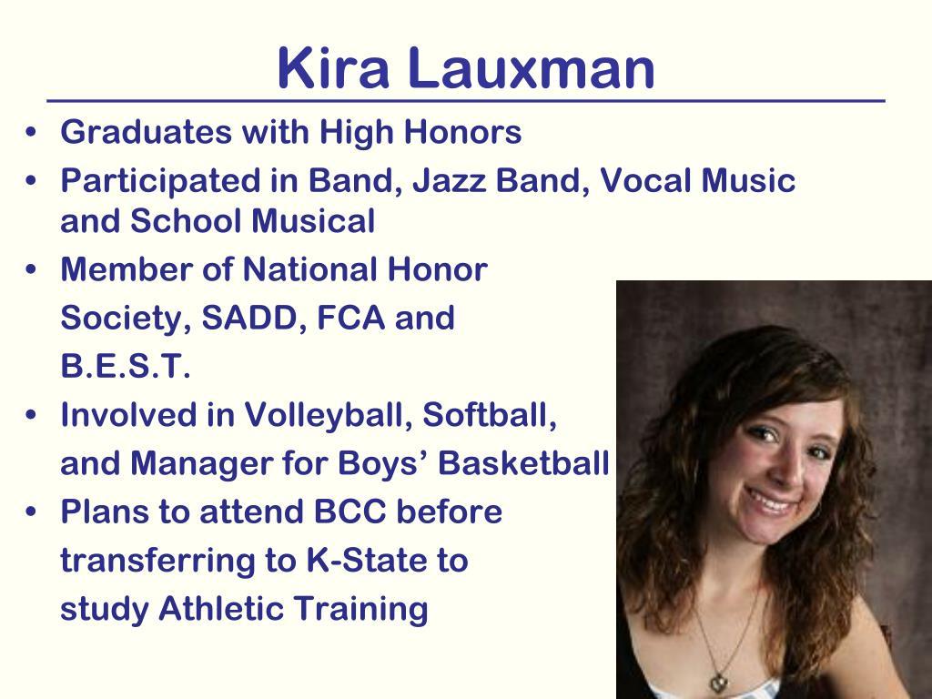 Kira Lauxman
