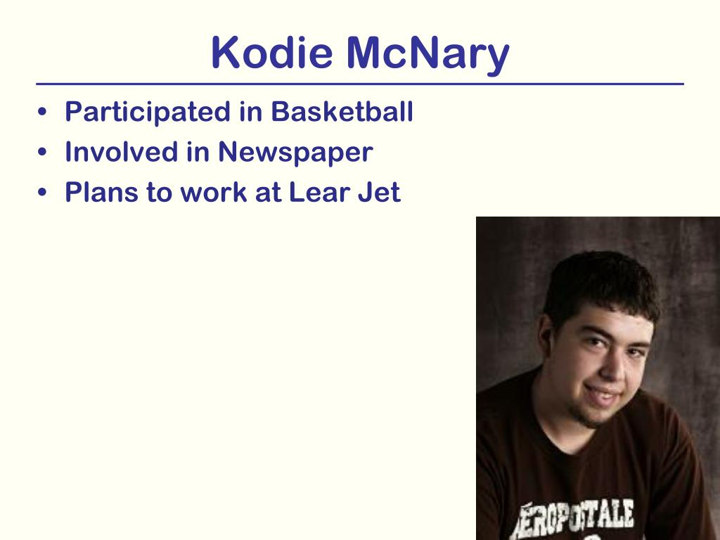 Kodie McNary