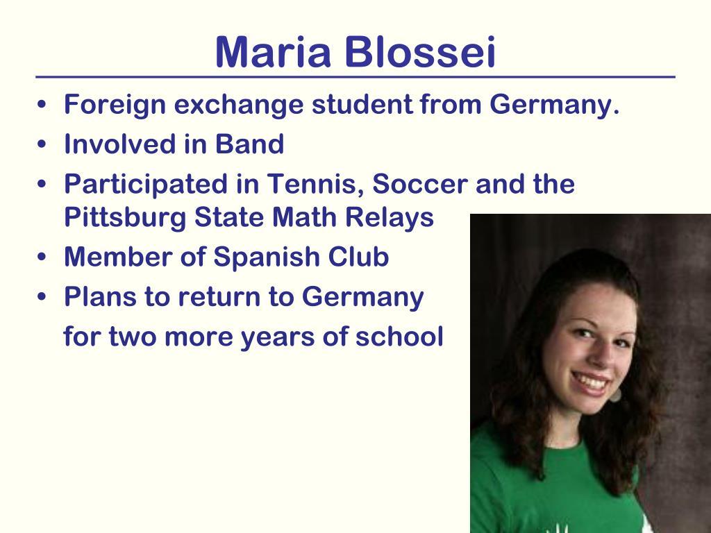 Maria Blossei
