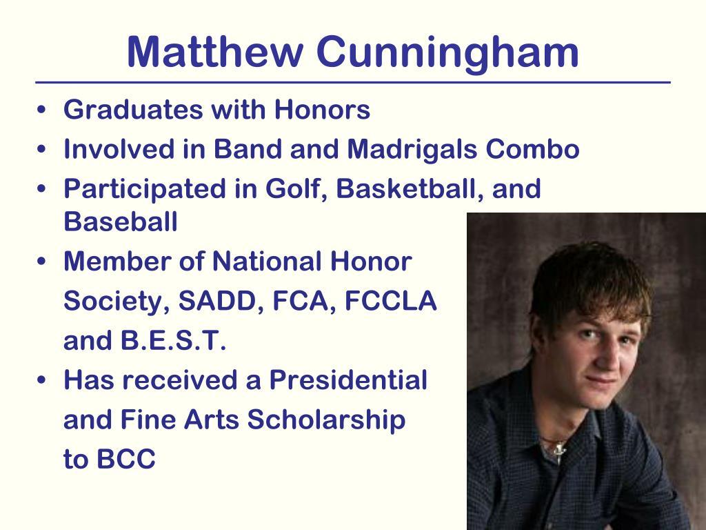 Matthew Cunningham
