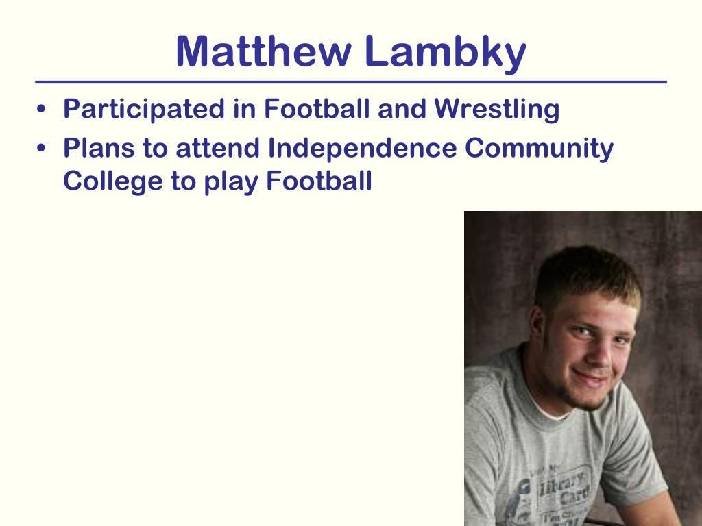 Matthew Lambky