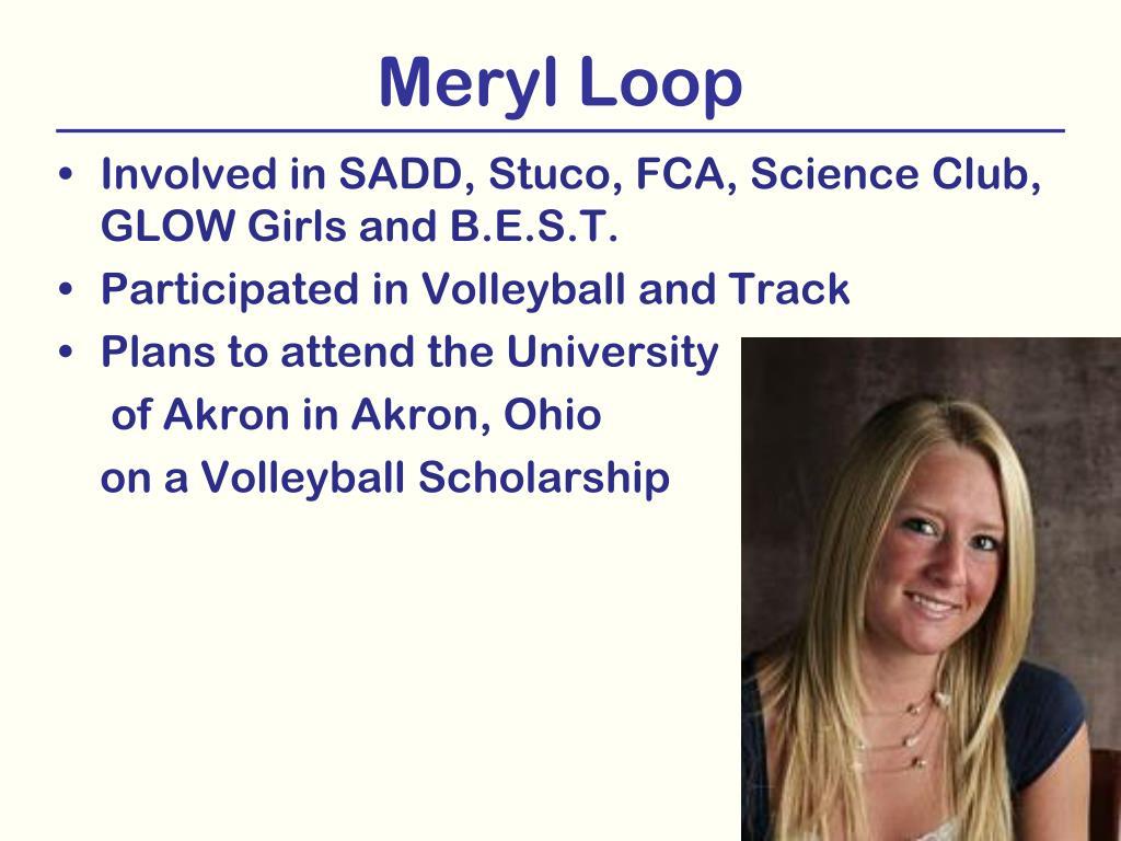 Meryl Loop