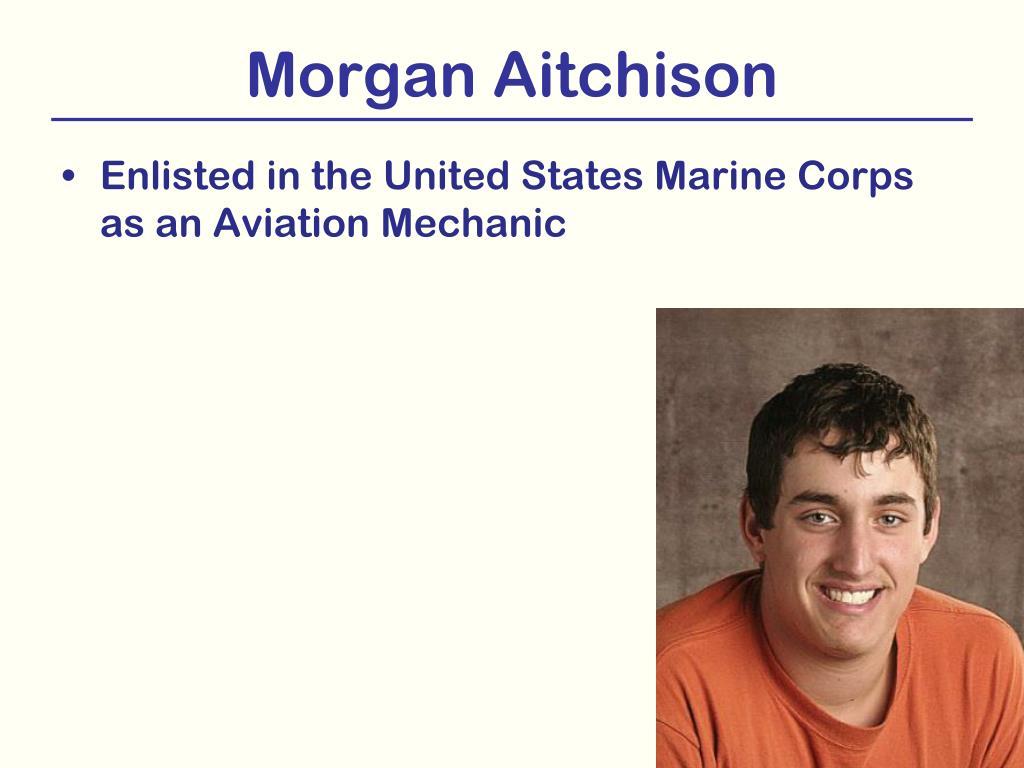 Morgan Aitchison