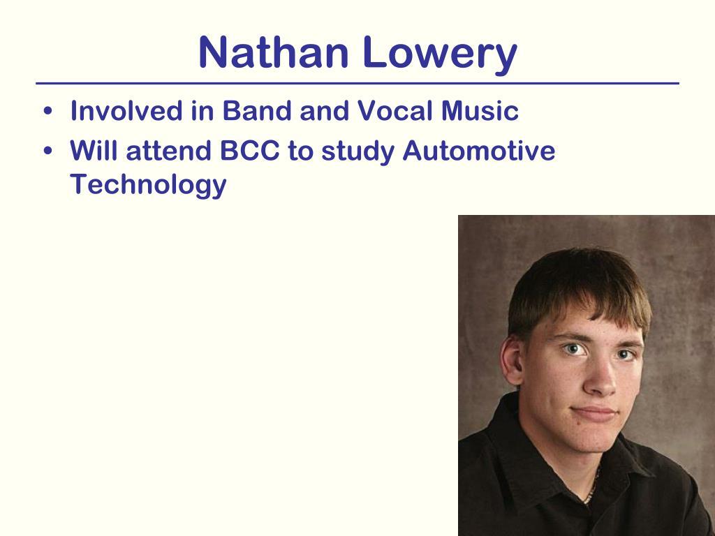 Nathan Lowery