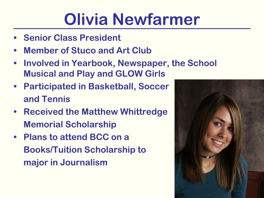 Olivia Newfarmer