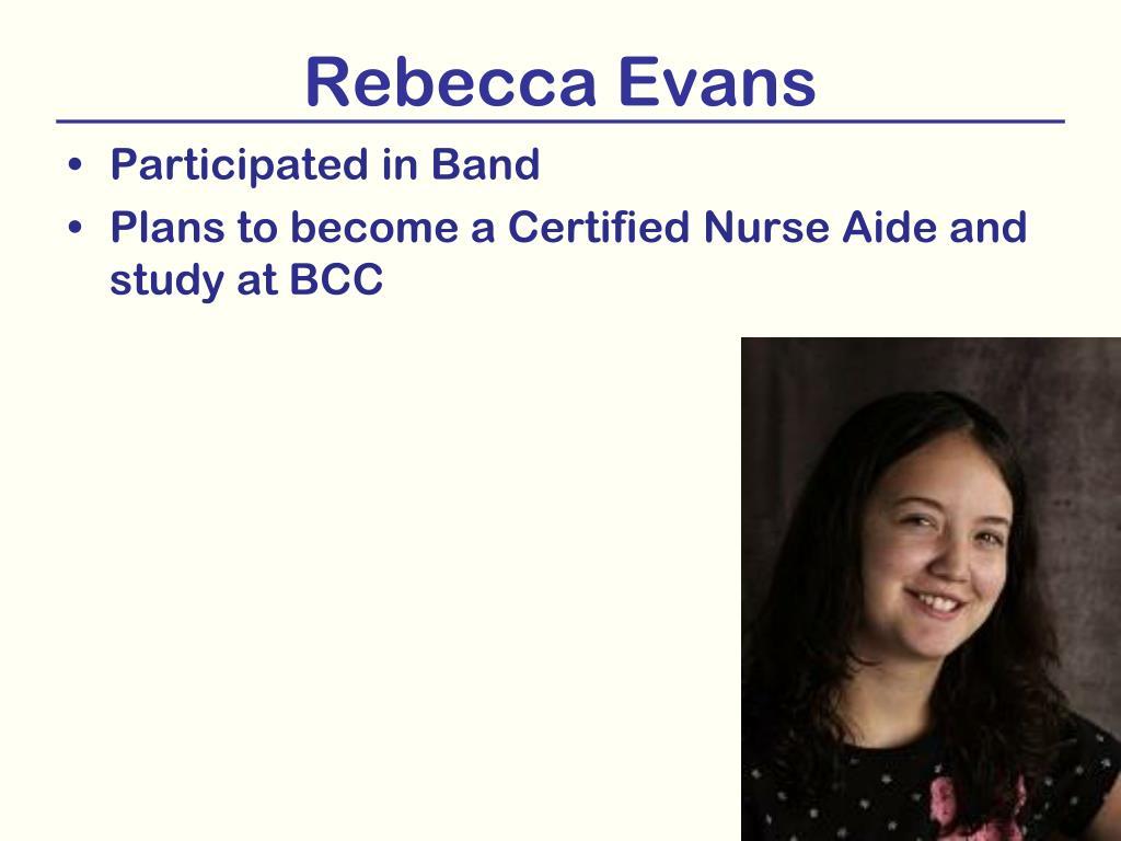 Rebecca Evans