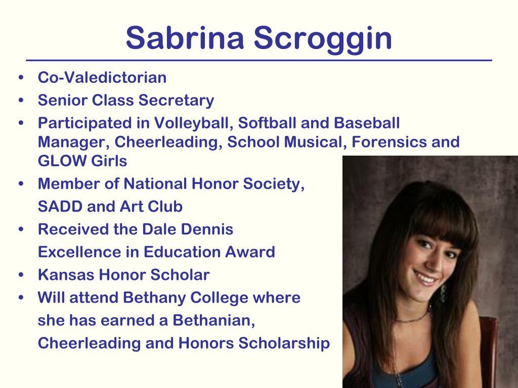 Sabrina Scroggin
