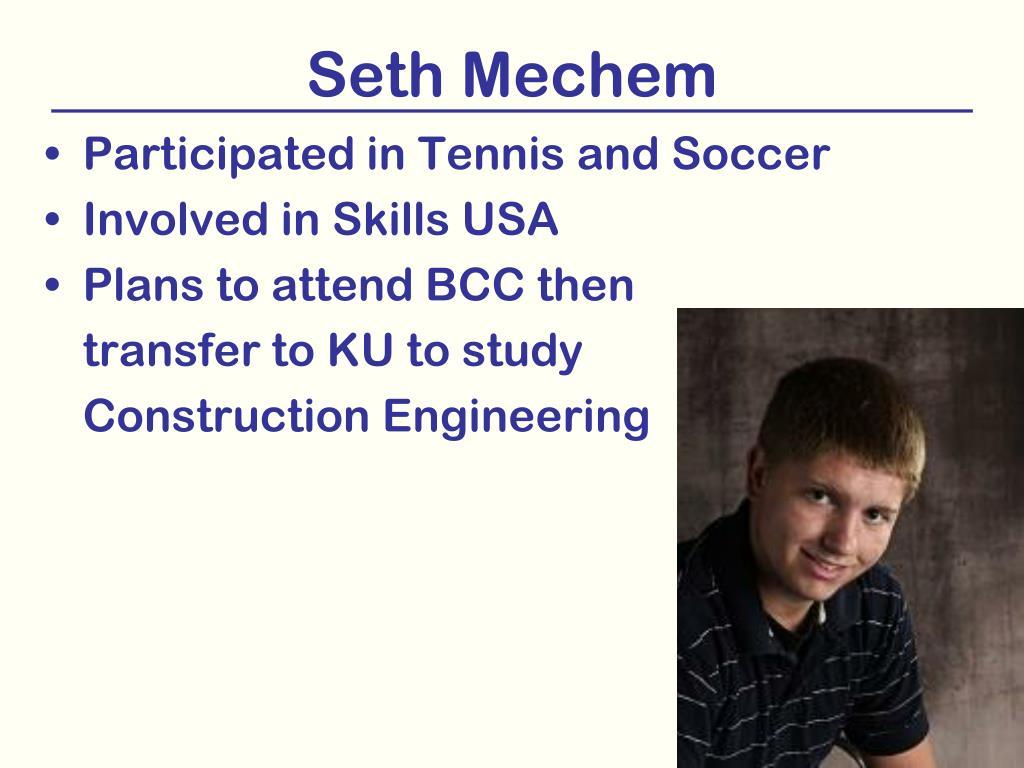 Seth Mechem