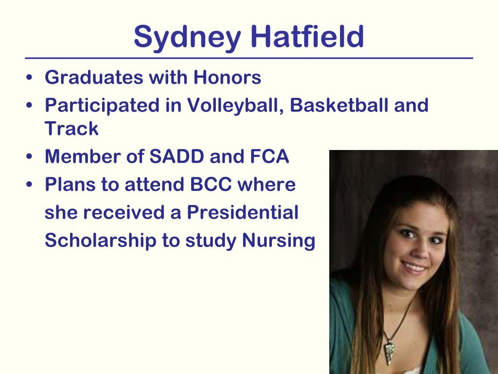 Sydney Hatfield