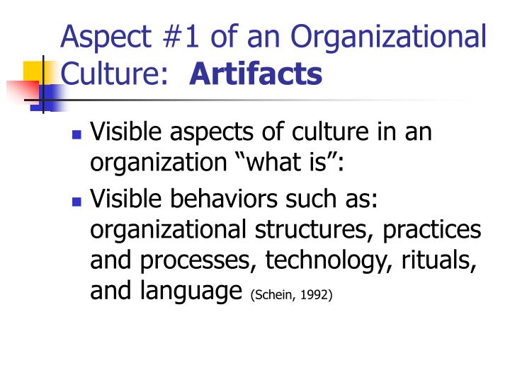 organizational artifacts A cultural artifact, or cultural artefact is a term used in the social sciences,  particularly  trademark of the wikimedia foundation, inc, a non-profit  organization.
