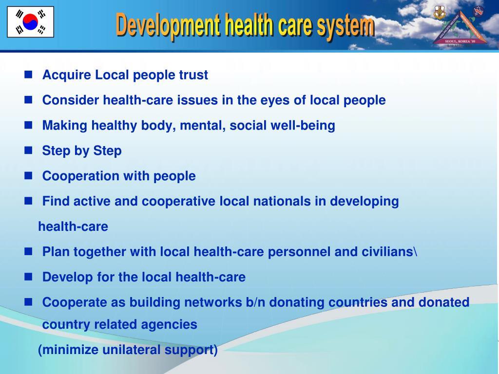 Acquire Local people trust
