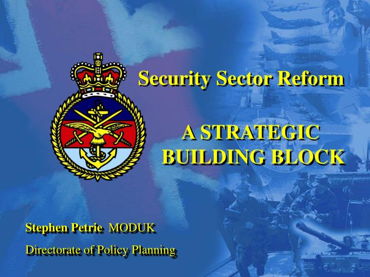 Security Sector Reform