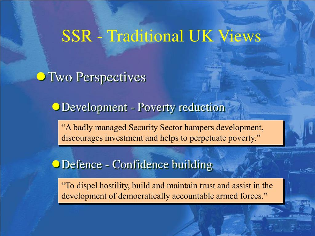 SSR - Traditional UK Views