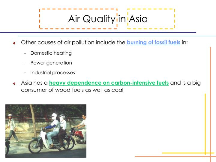 Air Quality in Asia