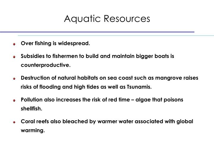 Aquatic Resources