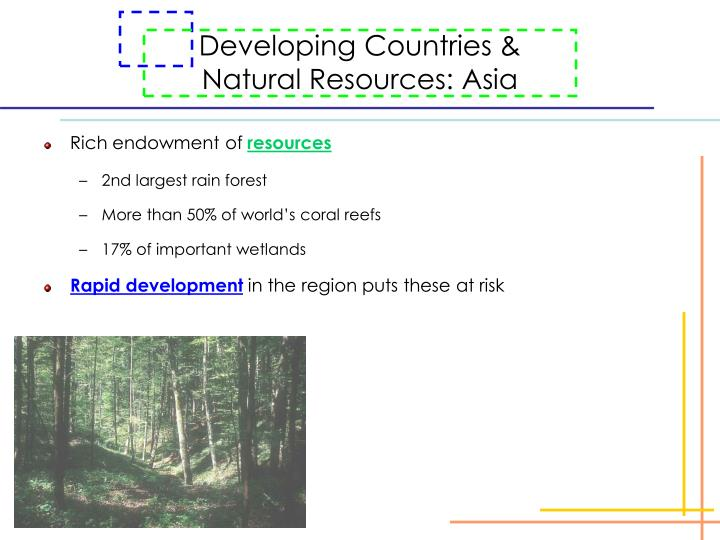 Developing Countries &