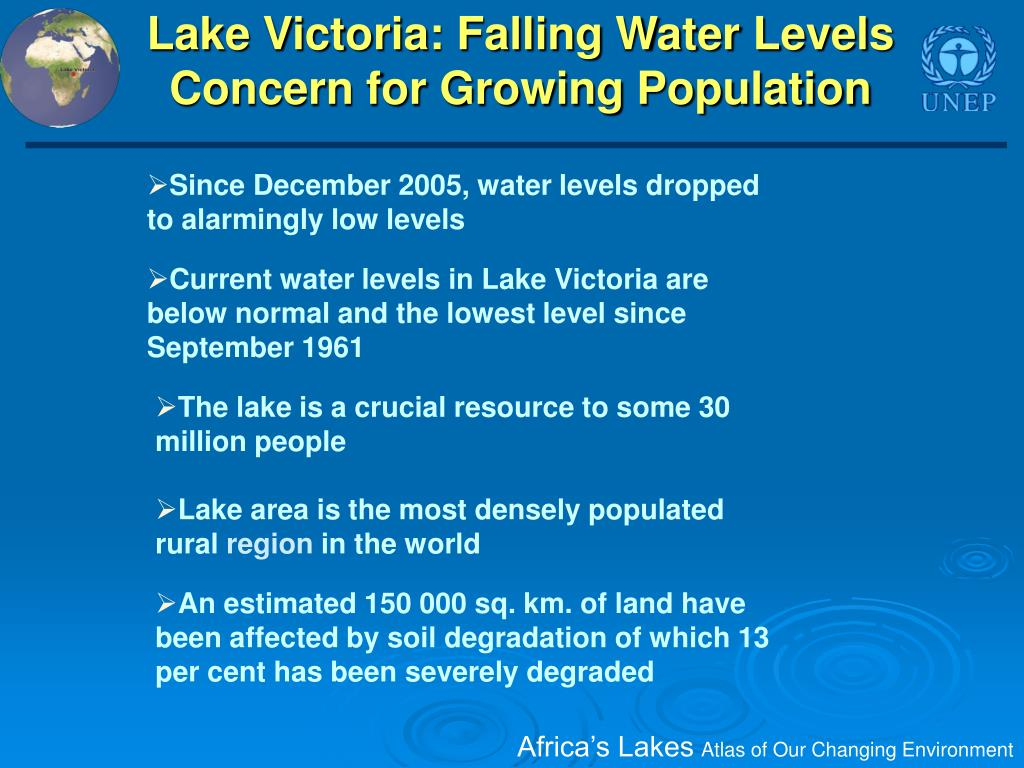 Lake Victoria: Falling Water Levels Concern for Growing Population