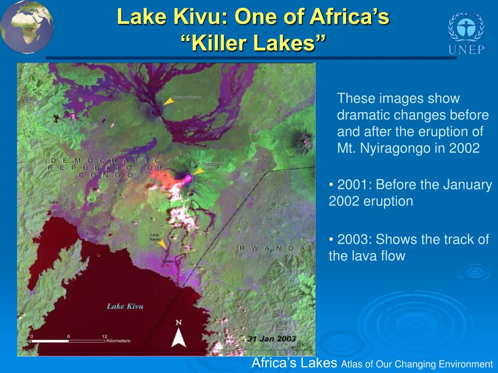 Lake Kivu: One of Africa's