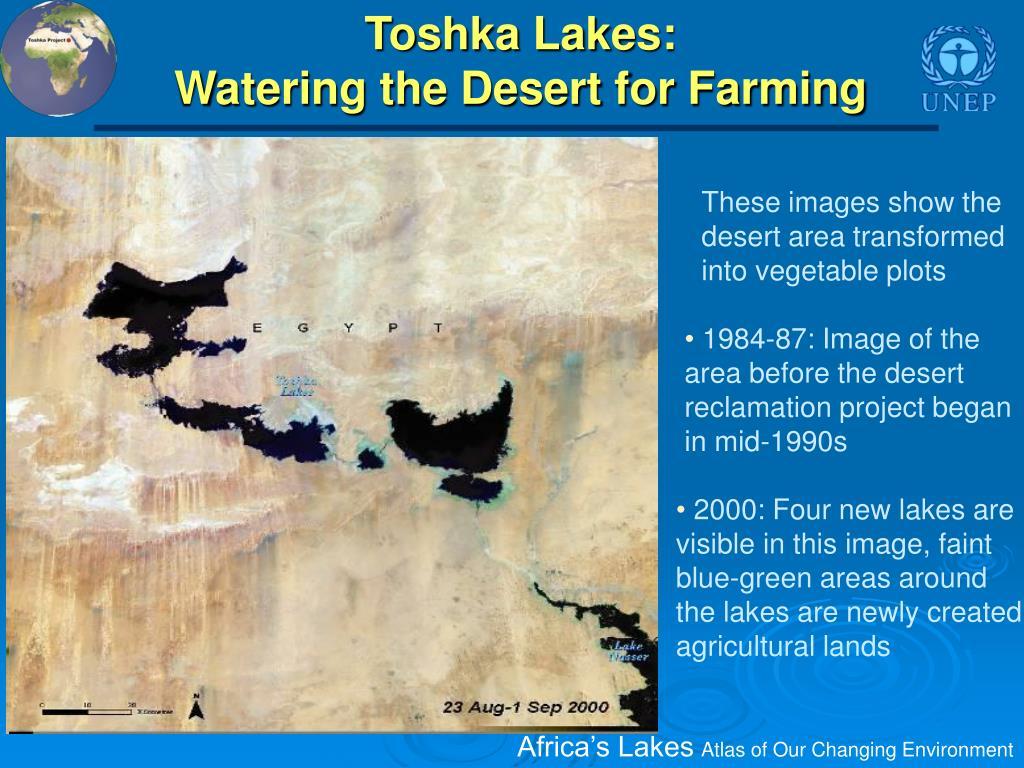 Toshka Lakes: