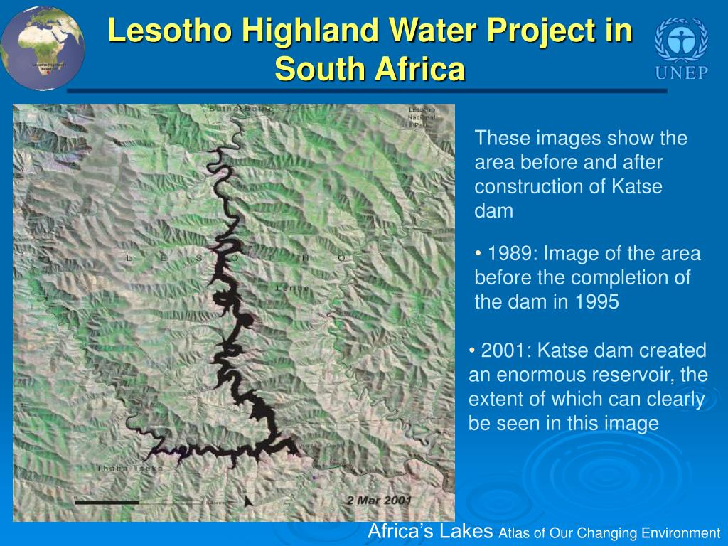 Lesotho Highland Water Project in South Africa