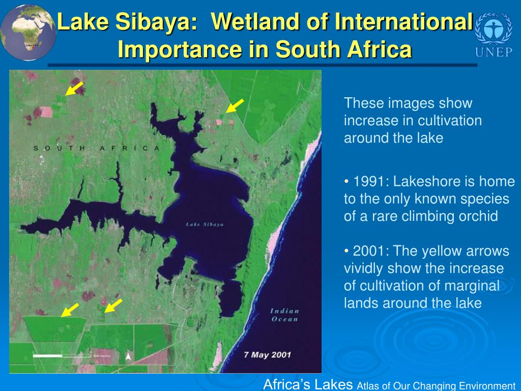Lake Sibaya:  Wetland of International