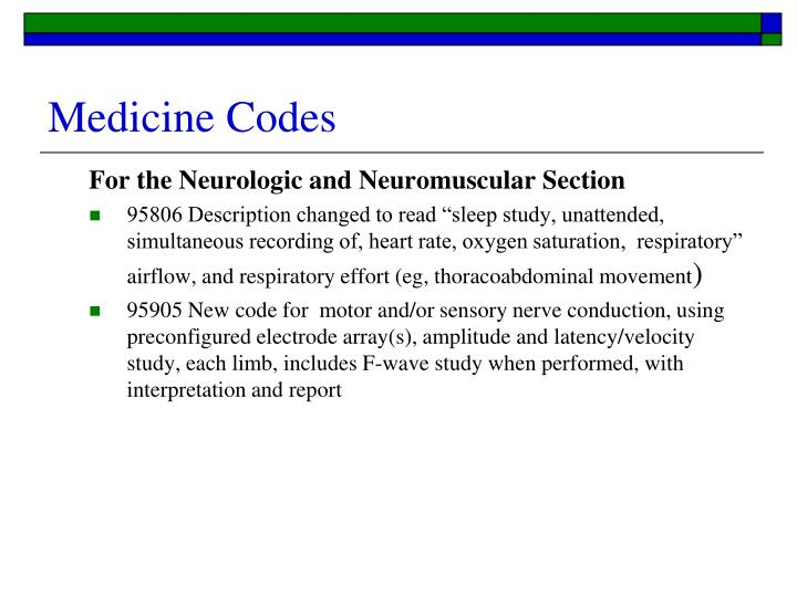 Code for unattended sleep study