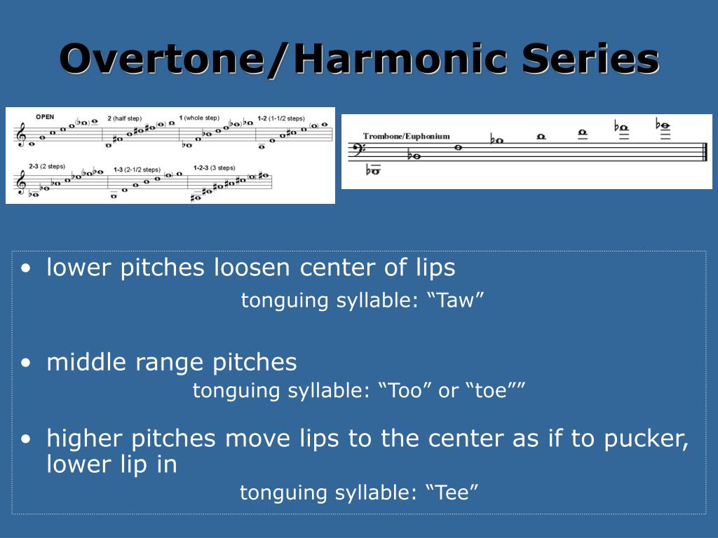 Overtone/Harmonic Series