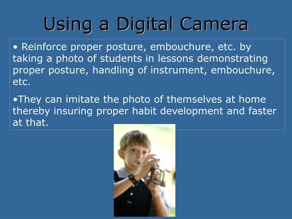 Using a Digital Camera