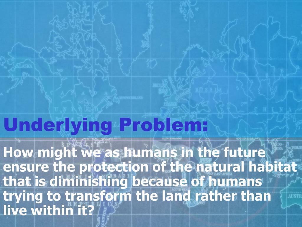 Underlying Problem: