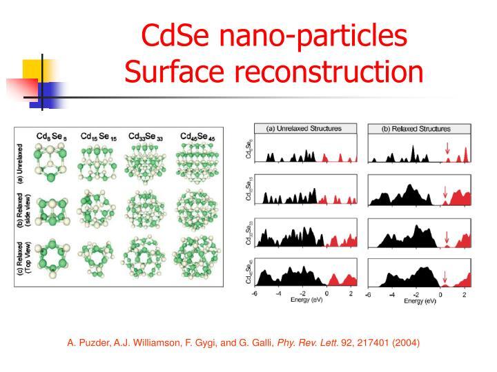 CdSe nano-particles