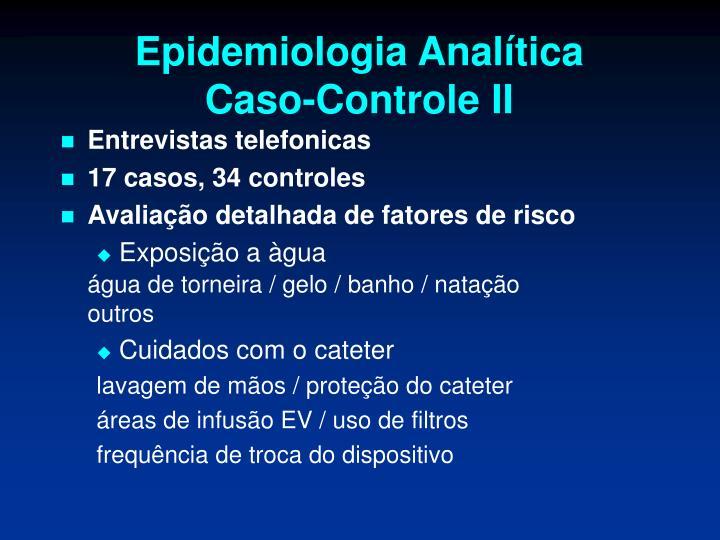 Epidemiologia Analítica