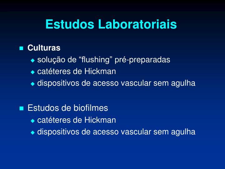 Estudos Laboratoriais