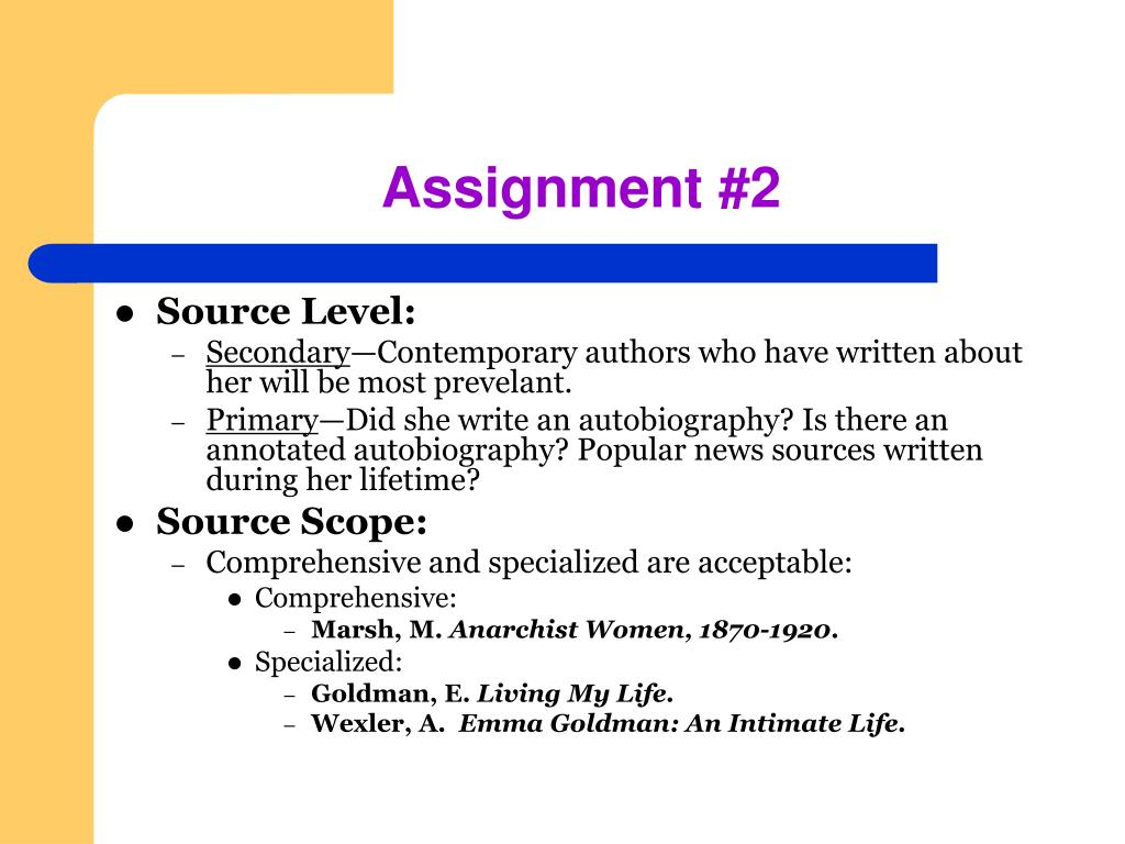 Assignment #2