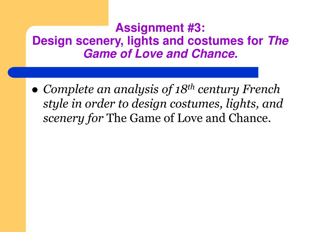 Assignment #3: