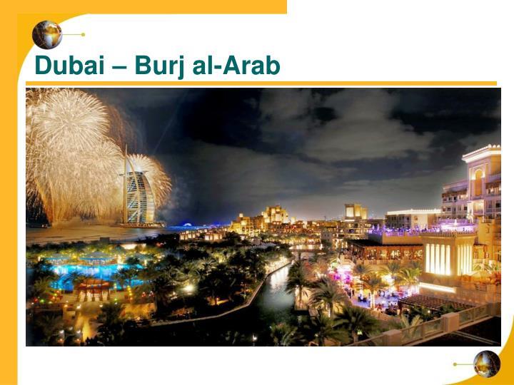 Dubai – Burj al-Arab