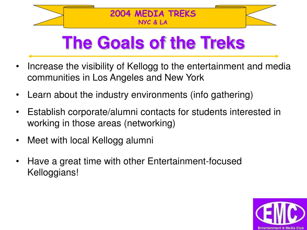 2004 MEDIA TREKS