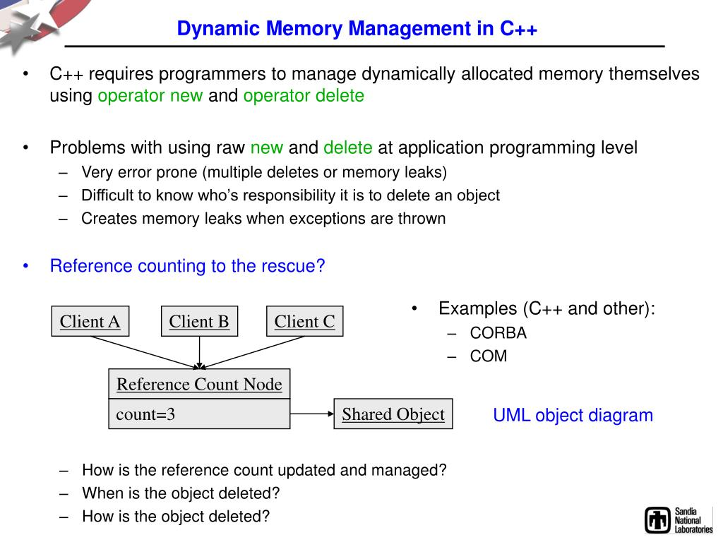 Dynamic Memory Management in C++